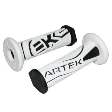 GRIP- ARTEK K1 WHITE/BLACK (PAIR)