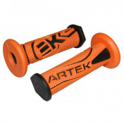 REVETEMENT POIGNEE ARTEK K1 ORANGE/NOIR (PAIRE)
