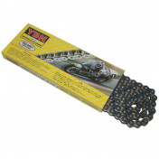 CHAIN FOR MOTORBIKE ON ROAD YBN 420 REINFORCED- BLUE- 134 LINKS