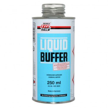 CLEANER (CHEMICAL) TIP TOP BUFFER FOR TYRE+INNER TUBE (250ml) (505 9685)