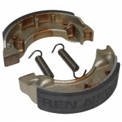 BRAKE SHOE FOR SCOOT NEWFREN FOR MBK 50 BOOSTER FRONT+REAR/YAMAHA 50 BWS FRONT+REAR (GF.1187 )