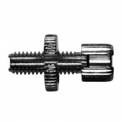 CABLE ADJUSTMENT SCREW FOR MOPED M8 L32mm (SPLIT) FOR GAS HANDLE (SOLD PER UNIT)
