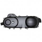 CARTER DE VARIATION SCOOT ADAPTABLE /PEUGEOT 50 KISBEE 4T/SYM 50 ORBIT 4T/SCOOT 50 CHINOIS 4T GY6, 139QMB 12 POUCES NOIR (LONGEUR 430mm) -P2R-