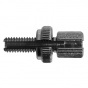 CABLE ADJUSTMENT SCREW FOR MOPED M6 L20mm - HEAD 7x10 (WITH ALUMINIUM SETTING WHEEL) -DOMINO-