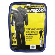 RAIN SUIT ADX ECO BLACK XXL (PANTS+JACKET)
