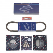 KIT ENTRETIEN MAXISCOOTER ADAPTABLE KYMCO 125 AGILITY 16 POUCES 2006> -RMS-