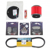 KIT ENTRETIEN MAXISCOOTER ADAPTABLE YAMAHA 125 MAJESTY 2006>2009/MBK 125 SKYLINER 2006>2009 -RMS-