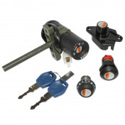 IGNITION SWITCH FOR MAXISCOOTER APRILIA 125 ATLANTIC 2003>2011, 500 ATLANTIC 2004>2008 -SELECTION P2R-