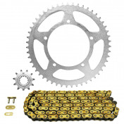 CHAIN AND SPROCKET KIT FOR APRILIA 50 RX 2002>2005 420 11x51 (BORE Ø 105mm) (OEM SPECIFICATION) -AFAM-