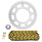 CHAIN AND SPROCKET KIT FOR APRILIA 50 RX,SX 2006>2011 420 11x53 (BORE Ø 105mm) (OEM SPECIFICATION) -AFAM-