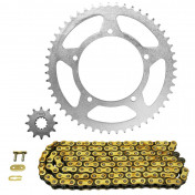 CHAIN AND SPROCKET KIT FOR APRILIA 50 RX 1995>1998 420 12x51 (BORE Ø 105mm) (OEM SPECIFICATION) -AFAM-
