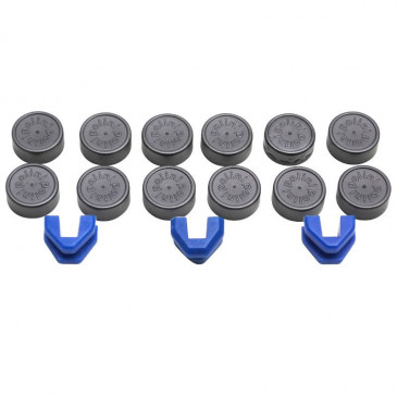 REPLACEMENT SHELLS FOR VARIATOR ROLLERS POLINI 16x13 (SET) 242028