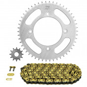CHAIN AND SPROCKET KIT FOR BETA 50 RR FACTORY 2005>2013 428 12x50 (BORE Ø 100mm) (OEM SPECIFICATION) - AFAM-