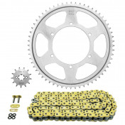 CHAIN AND SPROCKET KIT FOR APRILIA 125 RS4 2012> 428 13x60 (OEM SPECIFICATION) -AFAM-