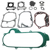 COMPLETE GASKET SET - FOR CHINESE SCOOT 50CC 4STROKE- 10 INCHES WHEELS- GY6, 139QMB/PEUGEOT 50 KISBEE, V-CLIC 4STROKE/BAOTIAN 50 BT49QT 4STROKE/NORAUTO 50 RAZZO 4STROKE -SELECTION P2R-