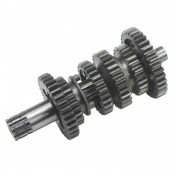 GEARBOX SHAFT FOR 50c MOTORBIKE GENERIC 50 TRIGGER/CPI 50 SM (SECONDARY FULL) -SELECTION P2R-