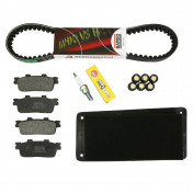 KIT ENTRETIEN MAXISCOOTER ADAPTABLE SYM 125 GTS 2005>2009, 125 GTS EVO 2013>2014 -SELECTION P2R-