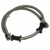 BRAKE HOSE - REINFORCED L 600 mm