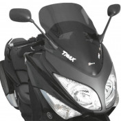 BULLE/SAUTE VENT MAXISCOOTER POUR YAMAHA 500 TMAX 2008>2011 FUME FONCE (H 685mm - L 525mm) -FACO-