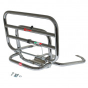 LUGGAGE RACK (REAR) FOR MAXISCOOTER PIAGGIO 125 VESPA S CHROME FOLDING -FACO-