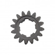 GEARBOX SPROCKET FOR MINARELLI 50 AM6/MBK 50 X-POWER/YAMAHA 50 TZR/PEUGEOT 50 XPS/RIEJU 50 RS1/APRILIA 50 RS (16 TEETH-PRIMARY SHAFT-2 ND GEAR - SERIE 1) -TOP PERFORMANCES TYPE AS ORIGINAL-(OE 4003617000)