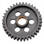 GEARBOX SPROCKET FOR MINARELLI 50 AM6/MBK 50 X-POWER/YAMAHA 50 TZR/PEUGEOT 50 XPS/RIEJU 50 RS1/APRILIA 50 RS (36 TEETH- SECONDARY SHAFT -1ST GEAR - SERIE 1) -TOP PERF AS ORIGINAL-