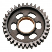 GEARBOX SPROCKET FOR MINARELLI 50 AM6/MBK 50 X-POWER/YAMAHA 50 TZR/PEUGEOT 50 XPS/RIEJU 50 RS1/APRILIA 50 RS (33 TEETH- SECONDARY SHAFT- 2 ND GEAR - SERIE 1) -TOP PERF AS ORIGINAL-
