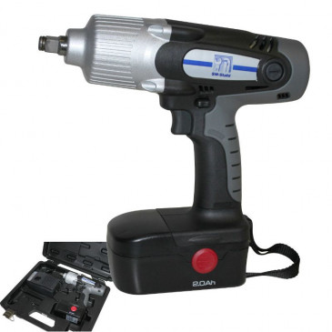 """ELECTRIC IMPACT WRENCH ON BATTERY NICD 19,2V - SQUARE END 1/2""""- TIP TOP"""
