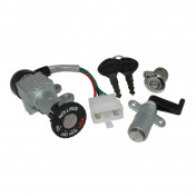 IGNITION SWITCH FOR MAXISCOOTER KYMCO 125 PEOPLE 1999> -SELECTION P2R-