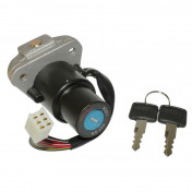 IGNITION SWITCH FOR 50cc MOTORBIKE MBK 50 X-POWER/YAMAHA 50 TZR (6 WIRES) -SELECTION P2R-