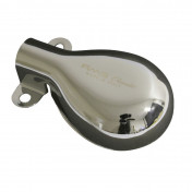 EXHAUST FINISHER FOR MAXISCOOTER FOR PIAGGIO 125 VESPA PX 1998> (CHROME) (CE APPROVED)