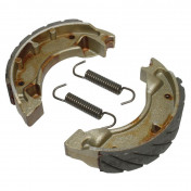 BRAKE SHOE FOR SCOOT NEWFREN FOR MBK 50 BOOSTER FRONT+REAR/YAMAHA 50 BWS FRONT+REAR (GF.1187 FTR)