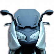 WINDSHIELD FOR MAXISCOOTER BMW 600 SPORT 2012> (SHORT-DARK SMOKED) -MALOSSI-