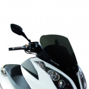 BULLE/SAUTE VENT MAXISCOOTER POUR KYMCO 125 DINK-STREET 2012>, 300 DINK-SREET 2012>, 125 DOWNTOWN 2012>, 300 DOWNTOWN 2012>, 125 SUPER-DINK 2012>, 300 SUPER-DINK 2012> (FUME FONCE) -MALOSSI-