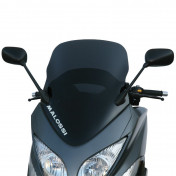BULLE/SAUTE VENT MAXISCOOTER POUR YAMAHA 500 TMAX 2008>2011 (FUME FONCE) (H688mm - L460mm) -MALOSSI-