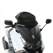 BULLE/SAUTE VENTMAXISCOOTER POUR YAMAHA 530 TMAX 2012>2016 (FUME FONCE) (H430mm - L445mm) -MALOSSI-