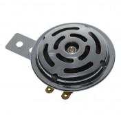 AVERTISSEUR/KLAXON CYCLO AC 6V ACIER CHROME 100DB (DIAM 70mm) -P2R-