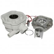 COMPLETE CYLINDER KIT FOR SCOOT PEUGEOT 50 SPEEDFIGHT LC -ALUMINIUM NIKASIL AIRSAL-