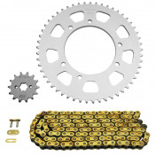 CHAIN AND SPROCKET KIT FOR GILERA 50 SMT 2003>2005 420 14x53 (BORE Ø 105mm) (OEM SPECIFICATION) -AFAM-