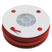 CABLE SHEATH TRANSFIL 26/10 (FLAT SECTION WIRE) RED (25M)