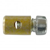 CABLE FASTENER FOR THROTTLE - MOPED - Ø 5,5mm - L 6mm FOR PIAGGIO 50 CIAO PX (SOLD PER UNIT)