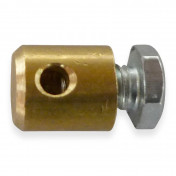 CABLE FASTENER FOR THROTTLE - MOPED - Ø 4,0mm - L 5,5mm FOR PIAGGIO 50 CIAO PX (SOLD PER UNIT)