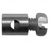 CABLE FASTENER FOR THROTTLE - MOPED - Ø 6,0mm - L 7mm FOR PEUGEOT (BLISTER PACK 25) (ALGI 02923000-025)