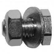 CABLE FASTENER FOR CHOKE - MOPED- Ø 5,0mm - L 9,5mm SHORT MODEL (BLISTER PACK 25) (ALGI 02101000-025)