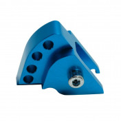 SHOCK ABSORBER RISER FOR SCOOT REPLAY FOR MBK 50 BOOSTER 1999>2003/YAMAHA 50 BWS 1999>2003 BLUE (4 POSITIONS)