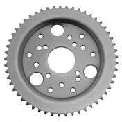 REAR CHAIN SPROCKET FOR 50cc MOTORBIKE DERBI 50 SENDA 1995>1999 420 53 TEETH (BORE Ø 53mm) -SELECTION P2R-