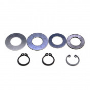 WASHER FOR MAIN PULLEY FOR MOPED MBK 51, 41, 88, CLUB (4 WASHERS + 3 CIRCLIPS)