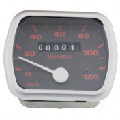 SPEEDOMETER FOR MOPED TRANSVAL 120KM/H FOR PEUGEOT 103 VOGUE, MVL- 16 INCHES WHEEL (WITH GEAR UNIT + TRANSMISSION)