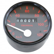SPEEDOMETER FOR MOPED TRANSVAL 120KM/H FOR PEUGEOT 103 SP ( WITH GEAR UNIT + TRANSMISSION)