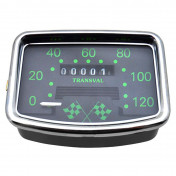 SPEEDOMETER FOR MOPED TRANSVAL 120KM/H FOR MBK 88 (WITH GEAR UNIT + TRANSMISSION)